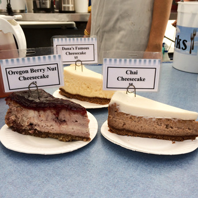 Dana's Cheesecake slices