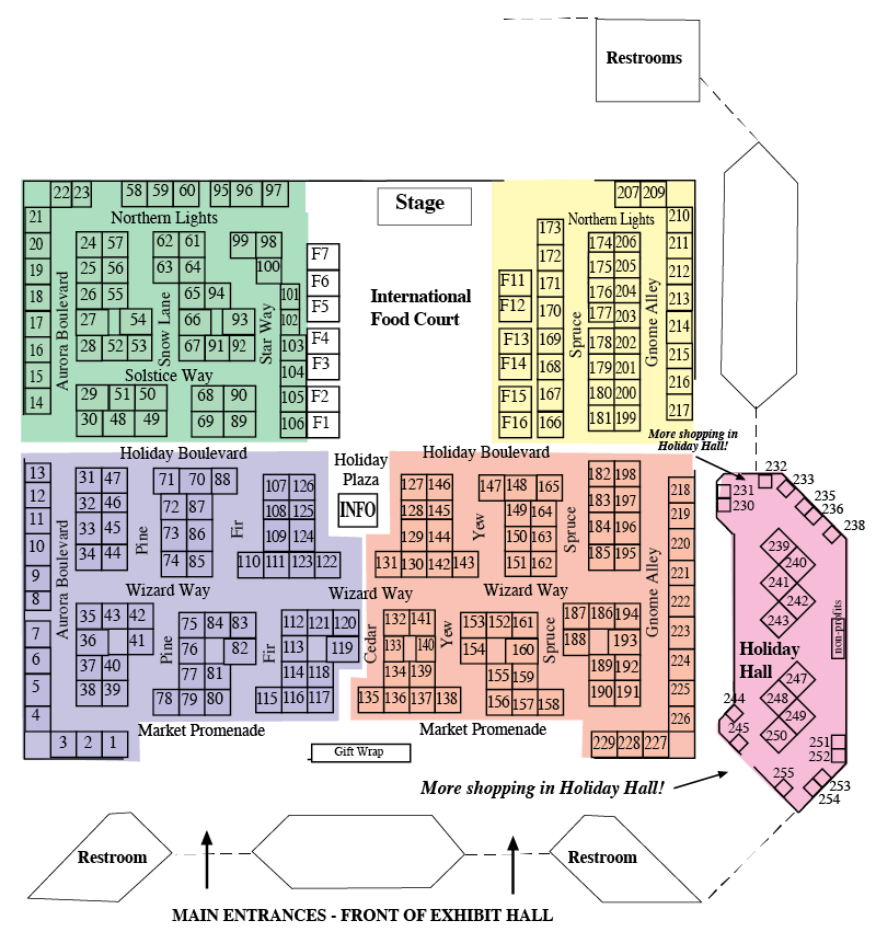 Booth Space Map